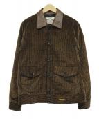CALEE(キャリ)の古着「コーデュロイスポーツタイプジャケット」|ブラウン