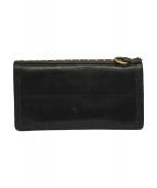 CALEE(キャリー)の古着「スタッズ付長財布」|ブラック