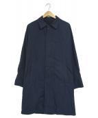 SHIPS(シップス)の古着「ステンカラーコート」|ブルー