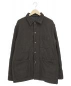 KUON(クオン)の古着「裂き織カバーオール」|ブラウン