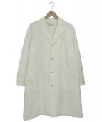 YAECA × HOBONICHI(ヤエカ×ホボニチ)の古着「Aラインコート」|ホワイト