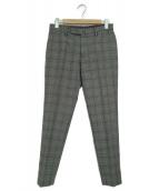 INCOTEX(インコテックス)の古着「ウールスラックスパンツ」|グレー