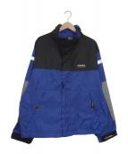 NAUTICA(ノーティカ)の古着「[古着]ナイロンジャケット」|ブラック×ブルー