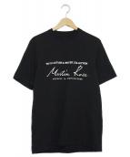 MARTINE ROSE(マーティンローズ)の古着「ロゴTシャツ」|ブラック