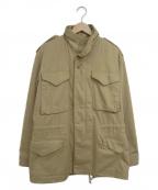 ALPHA()の古着「M65ジャケット」 ベージュ