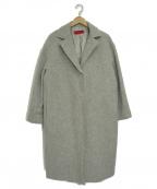 LA MARINE FRANCAISE(マリンフランセーズ)の古着「モッサコクーンコート」|グレー