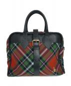 Vivienne Westwood(ヴィヴィアンウエストウッド)の古着「ハンドバッグ」|レッド×グリーン
