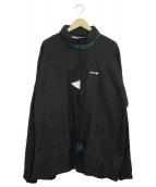 adidas(アディダス)の古着「[古着]ナイロンジャケット」|ブラック