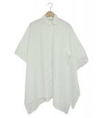 COMME des GARCONS(コムデギャルソン)の古着「ワイドシャツ」|ホワイト