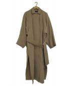 kei shirahata(ケイシラハタ)の古着「ワイドスリーブコート」|ベージュ