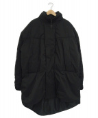 BURLAP OUTFITTER(バーラップアウトフィッター)の古着「TT モンスターパーカーダウンコート」|ブラック