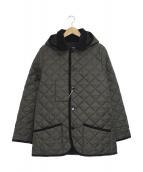 Traditional Weatherwear(トラディショナルウェザーウェア)の古着「キルティングジャケット」|チャコールグレー
