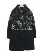 CIVAS(チバス)の古着「ウールコート」|ネイビー