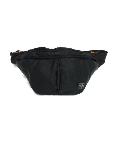 PORTER(ポーター)PORTER (ポーター) ボディーバッグ ブラック サイズ:下記参照 参考定価14,500円+税 タンカー WAIST BAG(S) 622-66629の古着・服飾アイテム