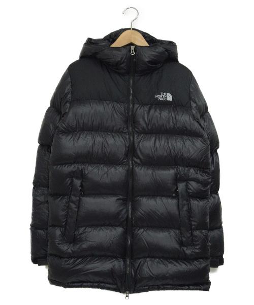 THE NORTH FACE(ザノースフェイス)THE NORTH FACE (ザノースフェイス) ヌプシフードコート ブラック サイズ:M NUPTSE HD COAT ND18903の古着・服飾アイテム