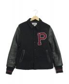 PHERROWS(フェローズ)の古着「アワードジャケット」|ブラック