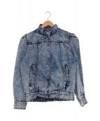 Leansi(-)の古着「[古着]ヴィンテージデニムジャケット」|ブルー