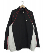 NIKE(ナイキ)の古着「[古着]ナイロンジャケット」|ブラック