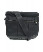 ()の古着「メッセンジャーバッグ」|ブラック