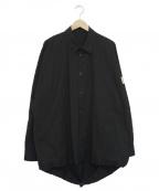 Essay(エッセイ)の古着「オーバーサイズバルーンシャツ」 ブラック