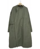 Engineered Garments(エンジニアドガーメンツ)の古着「ダブルクロスMGコート」|カーキ
