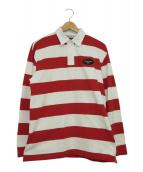 CARHARTT WIP(カーハート ダブリューアイピー)の古着「ラガーシャツ」|レッド×ホワイト