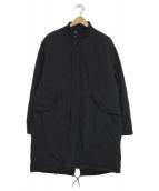 BEAUTY&YOUTH(ビューティーアンドユース)の古着「パデットフィッシュテールコート」|ネイビー