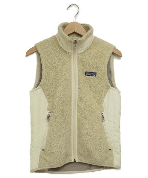 Patagonia(パタゴニア)Patagonia (パタゴニア) レトロXベスト オフホワイト サイズ:XS 23080F9の古着・服飾アイテム