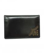 ETTINGER(エッティンガー)の古着「カードケース」|ブラック