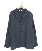 Yarmo(ヤーモ)の古着「ドライバーズジャケット」|ネイビー
