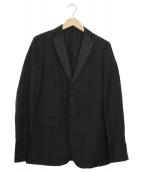CLAUDIO TONELLO(クラウディオトネッロ)の古着「テーラードジャケット」|ブラック