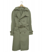 US ARMY(ユーエスアーミー)の古着「オールウェザーコート」|オリーブ