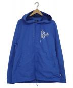 UNDERCOVER(アンダーカバー)の古着「ナイロンフードコーチジャケット」|ブルー