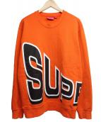 Supreme(シュプリーム)の古着「Side Arc Crewneck」|オレンジ