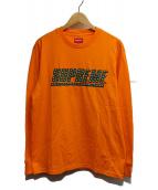 Supreme(シュプリーム)の古着「スタッズド L/S」|オレンジ