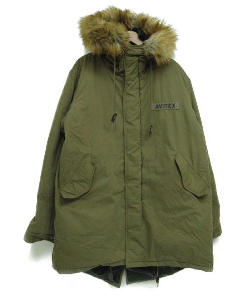 AVIREX(アヴィレックス)AVIREX (アヴィレックス) モッズコート オリーブ サイズ:XL 6162201の古着・服飾アイテム
