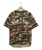 X-LARGE(エクストララージ)の古着「ゲームシャツ」|ブラウン