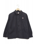 DANTON(ダントン)の古着「カバーオールシャツジャケット」 ネイビー