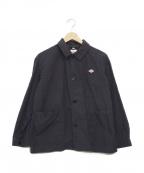 DANTON(ダントン)の古着「カバーオールシャツジャケット」|ネイビー
