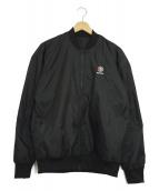 REEBOK(リーボック)の古着「リバーシブル中綿ジャケット」|ブラック