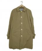 SHIPS JET BLUE(シップスジェットブルー)の古着「ステンカラーコート」 ブラウン