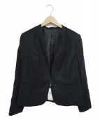 J.PRESS(ジェイプレス)の古着「ノーカラージャケット」|ネイビー