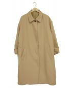 Mila Owen(ミラオーウェン)の古着「ステンカラーコクーンコート」|ベージュ