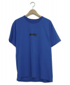 M+RC NOIR(マルシェノア)の古着「ロゴTシャツ」 ブルー