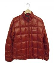 mont-bell(モンベル)の古着「ライトダウンジャケット」|レッド