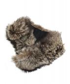 SAGA FOX(サガフォックス)の古着「フォックスファーティペット」 ブラウン