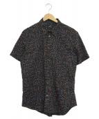 PS Paul Smith(ピーエスポールスミス)の古着「半袖シャツ」|ブラック
