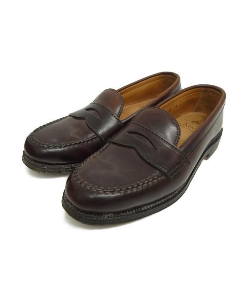 Alden(オールデン)ALDEN (オールデン) コインローファー ブラウン サイズ:5 1/2 6116の古着・服飾アイテム