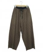 THE Sakaki(ザ サカキ)の古着「居間着パンツ」|ブラウン