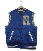 Rugby Ralph Lauren(ラグビーラルフローレン)の古着「中綿キルティングベスト」|ネイビー